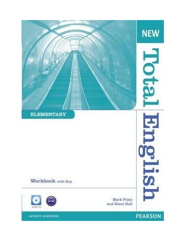 NEW TOTAL ENGLISH ELEMENTARY WBK WITH KEY & CDS PK