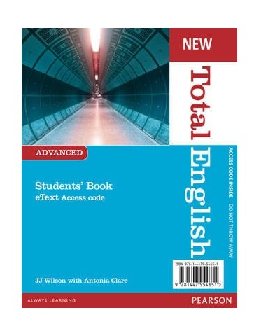 NEW TOTAL ENGLISH ADVANCED STUDENTS ETEXT