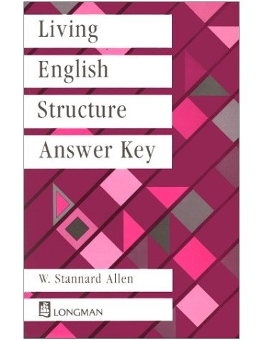 LIVING ENGLISH STRUCTURE KEY