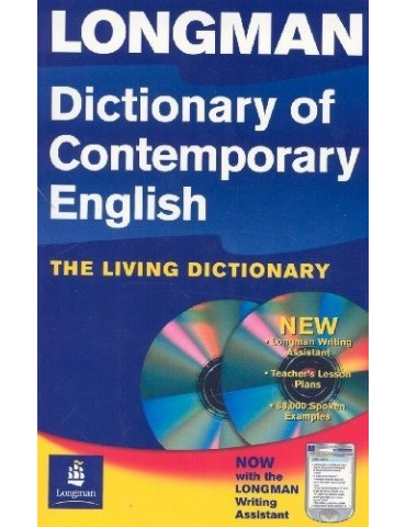 LONGMAN DICTIONARY OF CONTEMPORARY ENGLISH WITH CD.