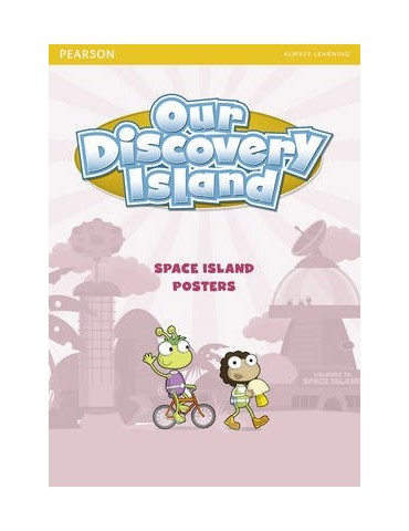 OUR DISCOVERY ISLAND SET POSTER SPACE ISLAND